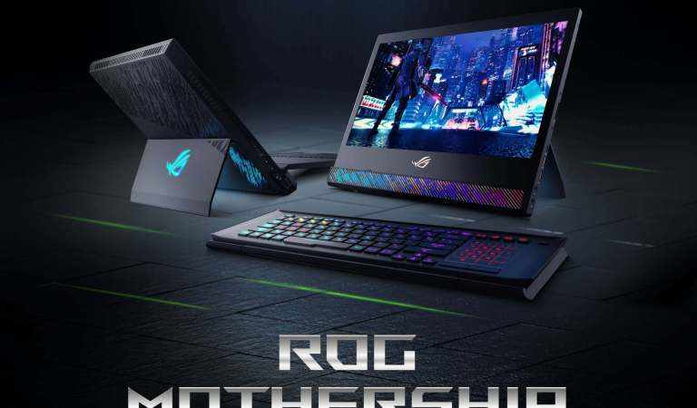 ROG RTX gaming laptops teased at CES 2019