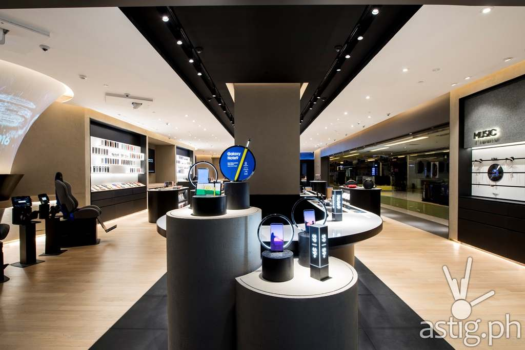 Newness Table - Samsung flagship store Manila Philippines