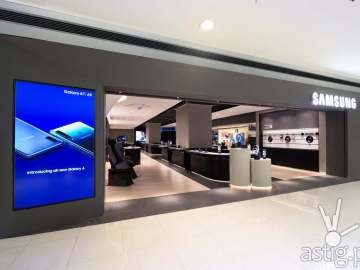 Samsung Experience Store - Samsung flagship store Manila Philippines