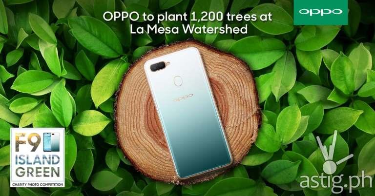OPPO F9 Jade Green Bantay Kalikasan