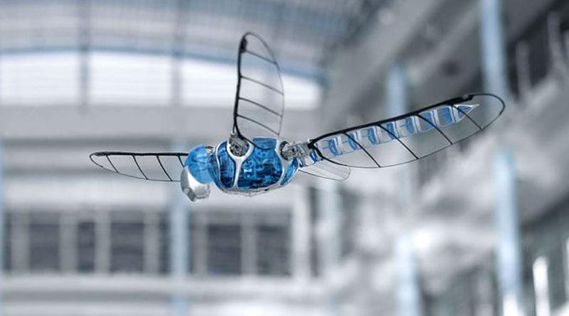 Bionicopter Mimics Dragonfly Flight