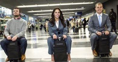 The First Motorized Carry-On Bag