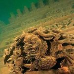 Diving the Underwater Ancient Ruins of Lion City in China