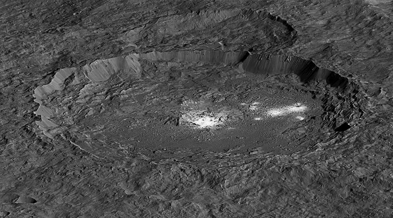 Dwarf Planet Ceres is Active, Evolving World: Nasa
