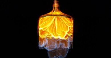 Nitromethane Jet Bottle Looks Awesome in 4k Slow Motion