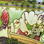 The Japanese Town Growing Masterpieces With Rice