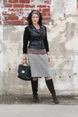 Tweed and Leather