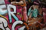 Graffiti Make-over for Melbourne Lane Way