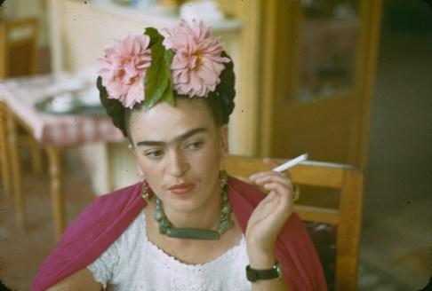 Frida Kahlo - Flowers in her Hair