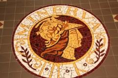 Mosaic Floor at the Mechanics Institute - Ballarat
