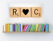 2. Giant Scrabble letters