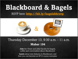 Blackboard & Bagels