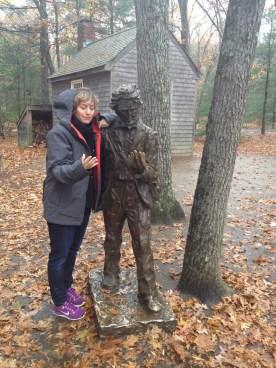 Henry David Thoreau, Walden Pond -Concord, Massachusetts
