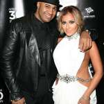 Adrienne Bailon and her fiancee VP of A&R at Roc Nation Lenny Santiago