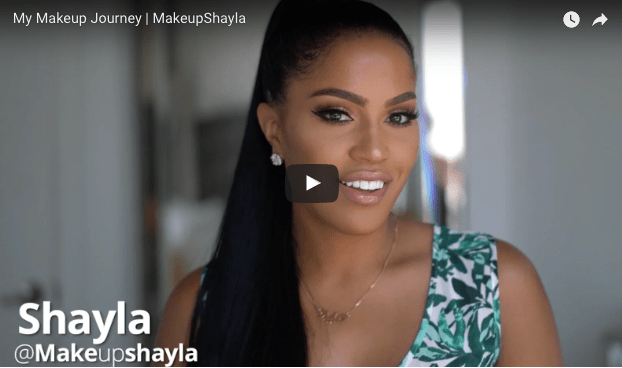 makeup shayla makeup journey motivational youtube videos