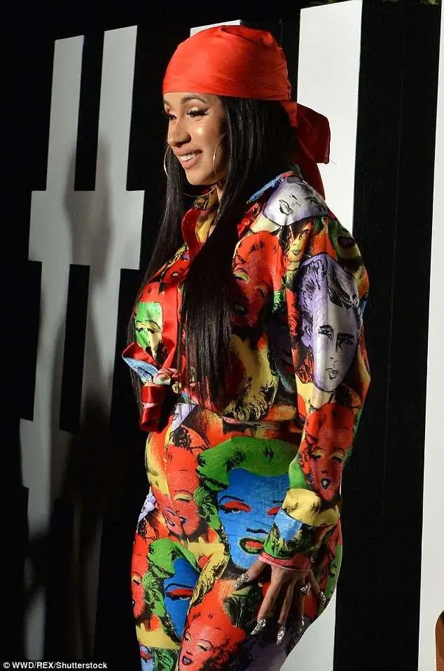 cardi b outfits fashion
