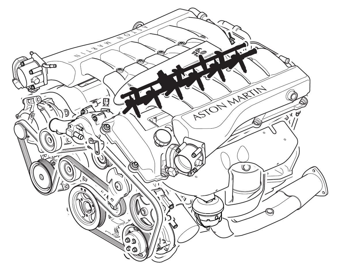 Aston martin db9 fuel charging system