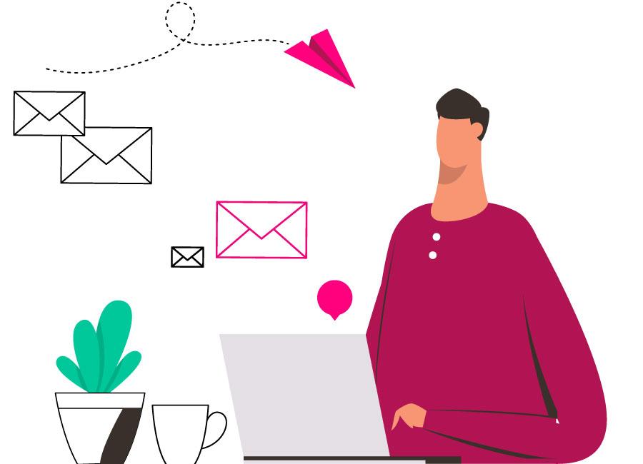 priprava e-mail vsebin, astoria-agencija.si