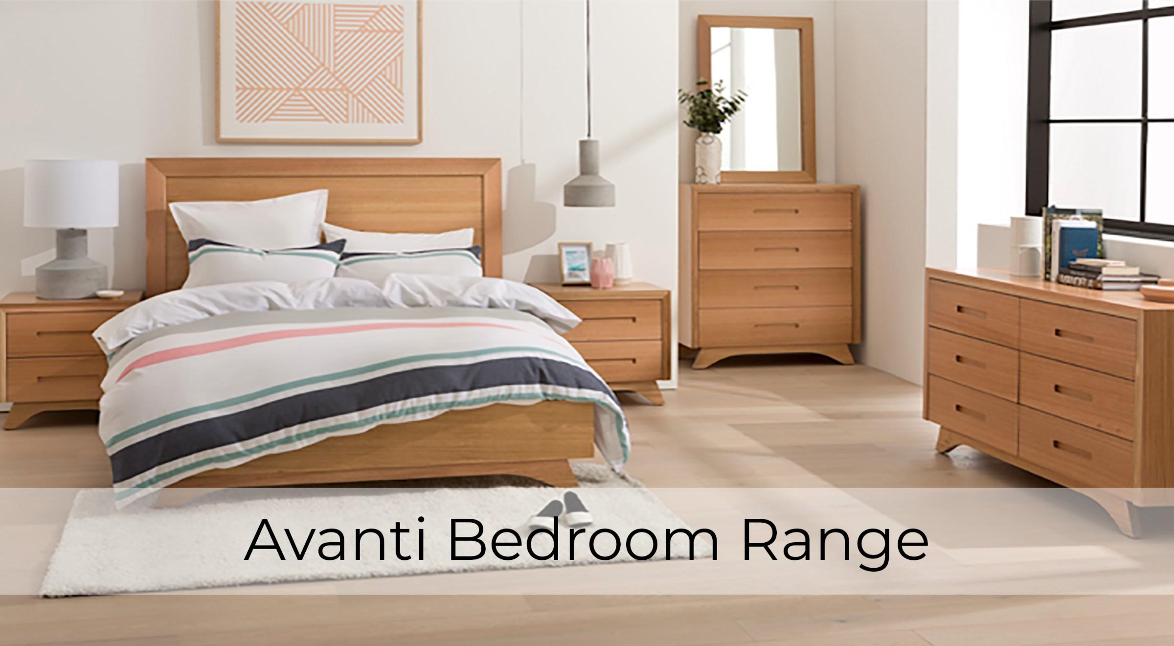 Avanti Tasmanian Oak Bedroom Furniture by Astra Furniture