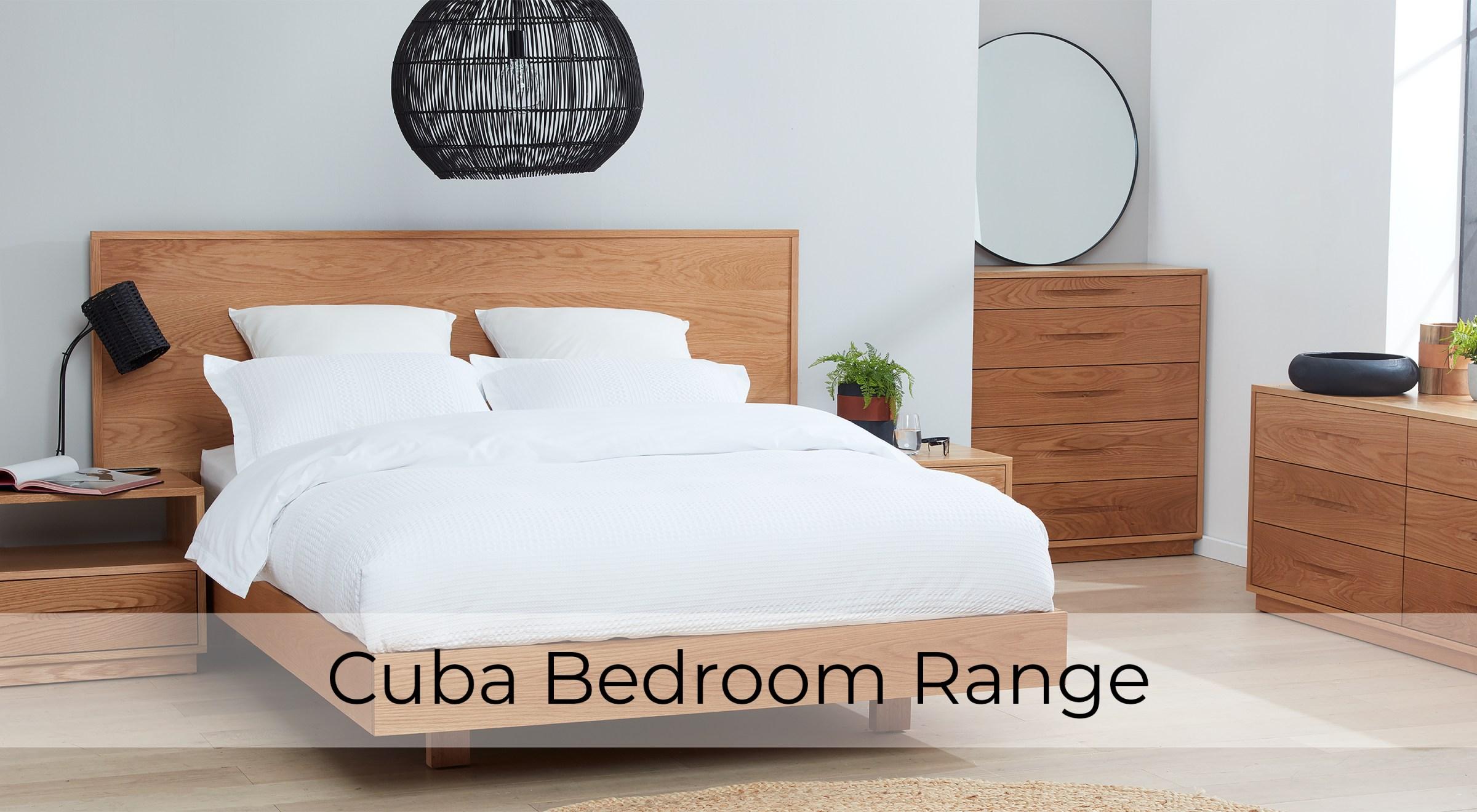 Cuba American Oak Bedroom Furniture by Astra Furniture