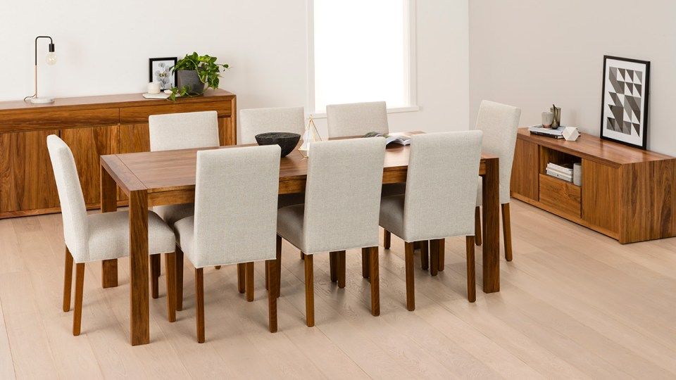 Aspley Tasmanian Blackwood Dining Room Furniture