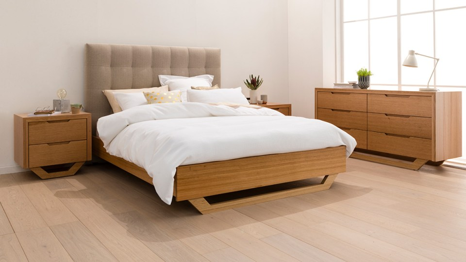 Barkley Tasmanian Oak Bedroom Furniture
