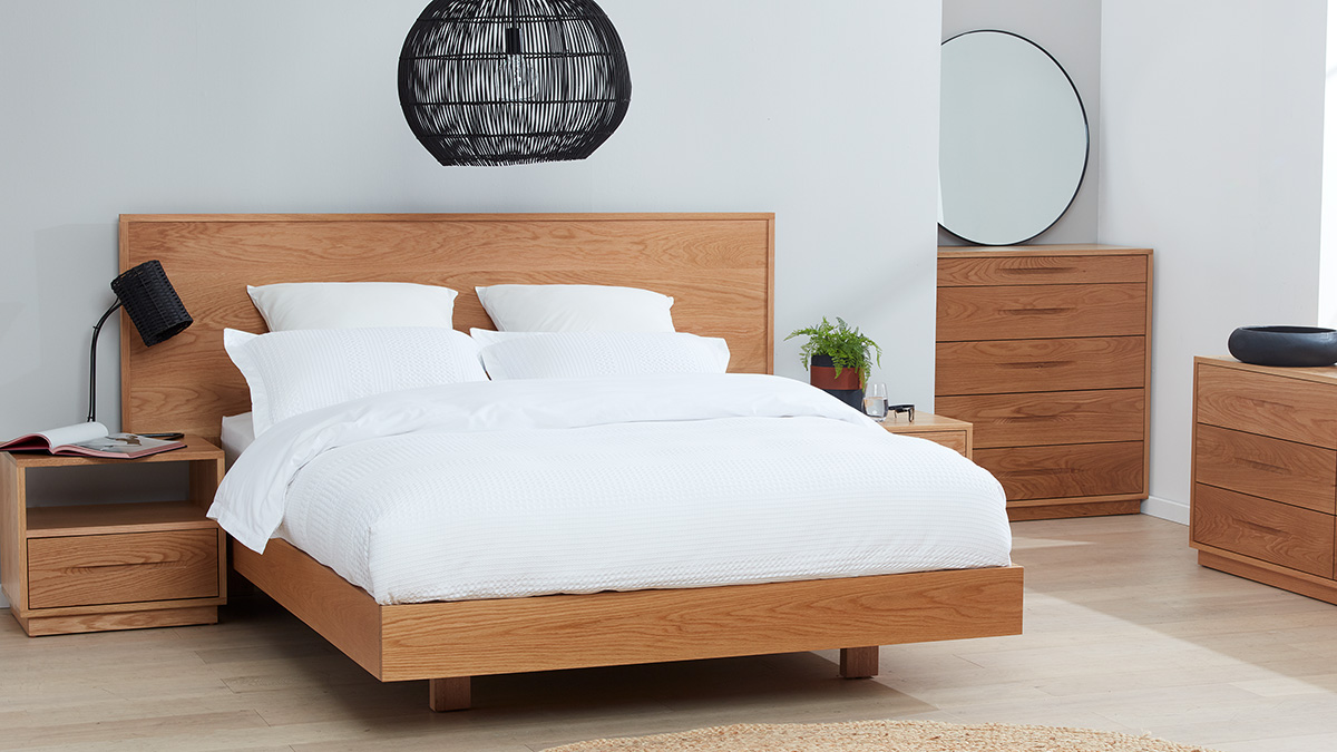 Cuba American Oak Bedroom Furniture by Astra Furniture