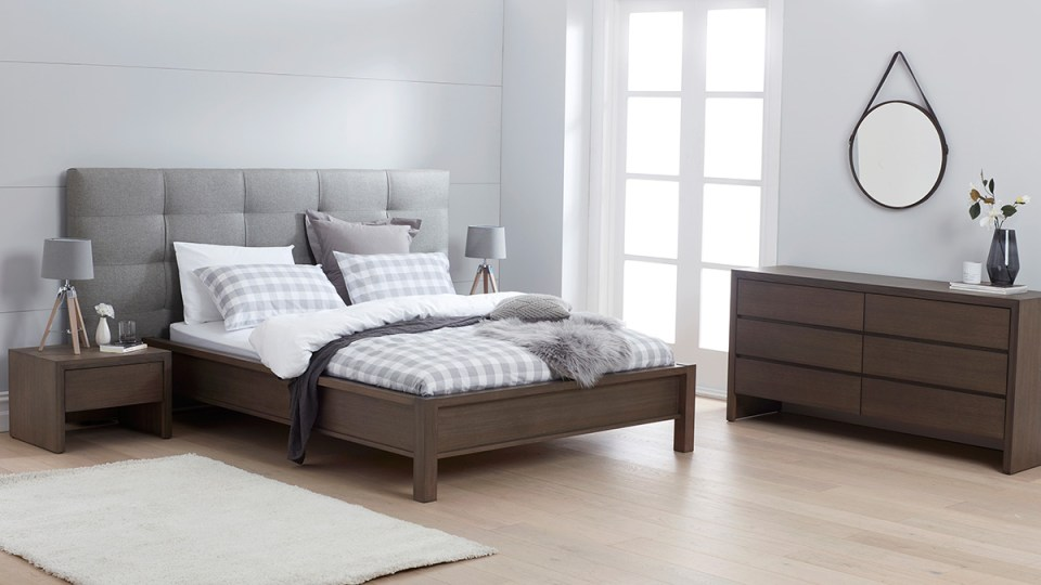 Sienna Tasmanian Oak Bedroom Furniture
