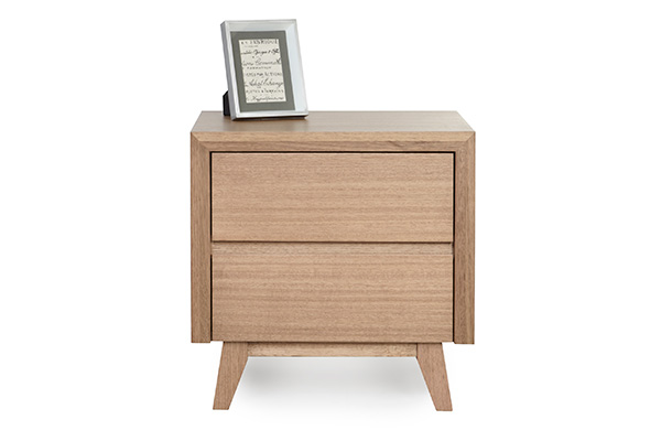 Retro Tasmanian Oak Bedside Table by Astra Furniture