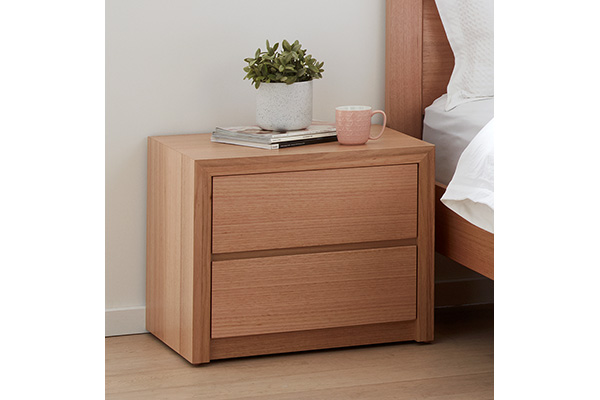 Sorrento Tasmanian Oak Bedside Table by Astra Furniture