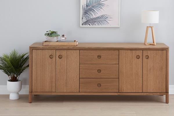 Kiama Tasmanian Oak Buffet by Astra Furniture