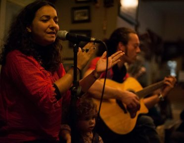 Simone Alves Yann Gourvil Kumbara Cafe Breton music Astrakan Project