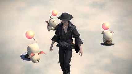 Man, Meal, and Moogle