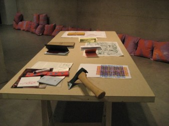 """EXILE OF THE IMAGINARY: RADICAL READ-IN"" at Generali Foundation, Vienna, Austria, January 19, 2007"