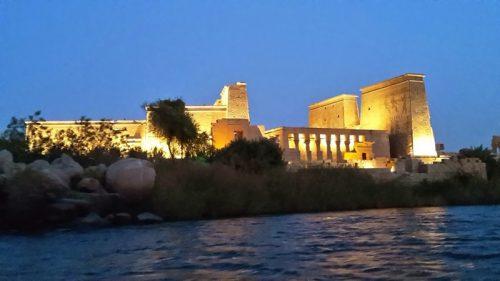 Tanz in Ägypten - Isistempel