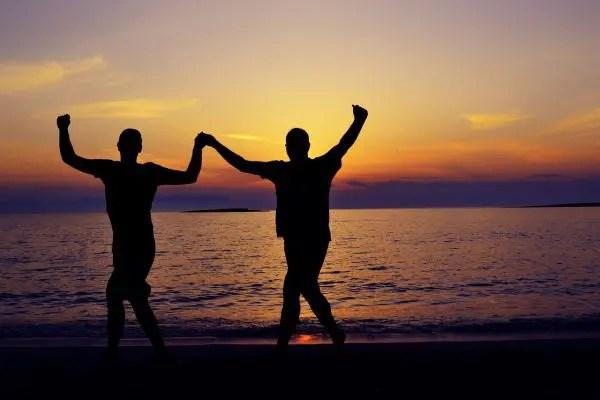 Tanzen am Meer