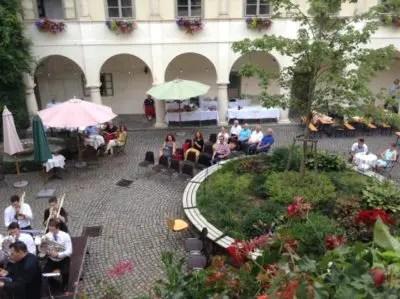 Blick in den Schlosshof