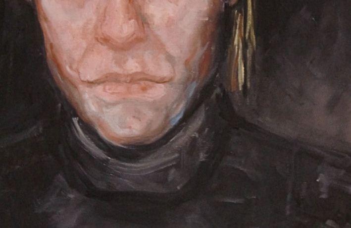 Sereno, oliverf op canvas, 30 x 40 cm, 2011