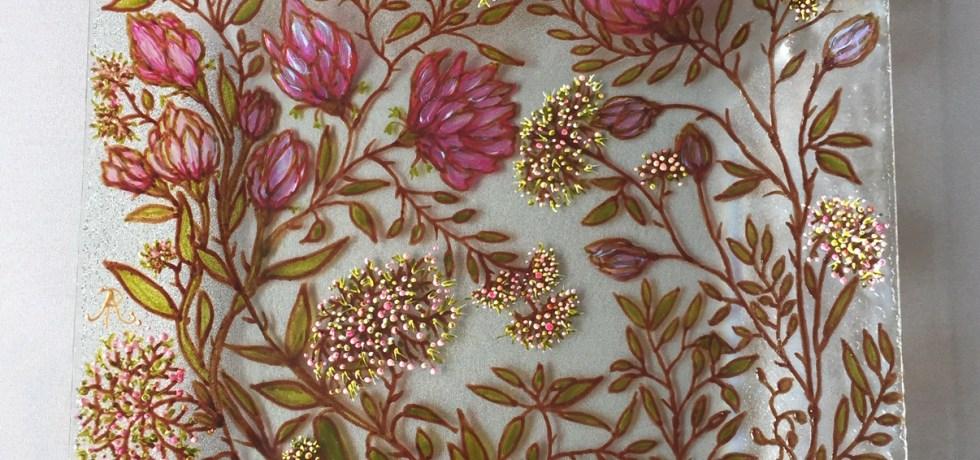Schotel 'Pink Floral'
