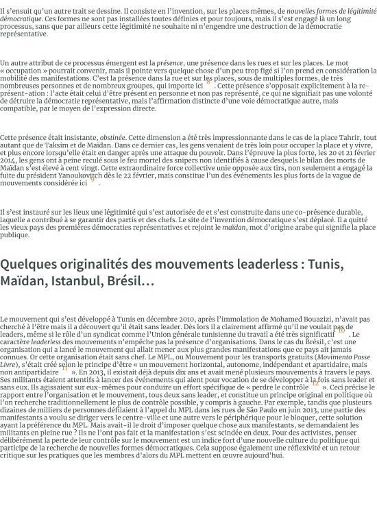 Les foules raisonnables. Notes sur les mouvements sans parti ni leader des années 2010 et leur rappo-page-002