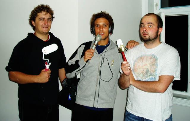Aleksander Schou, Freddy dos Santos og Thomas Aune - dine toastmastere