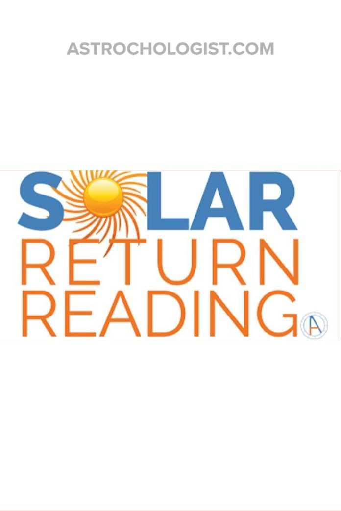 Your Solar Return is a special day and time. Find out what's ahead for this year, empower yourself with a Solar Return Reading.