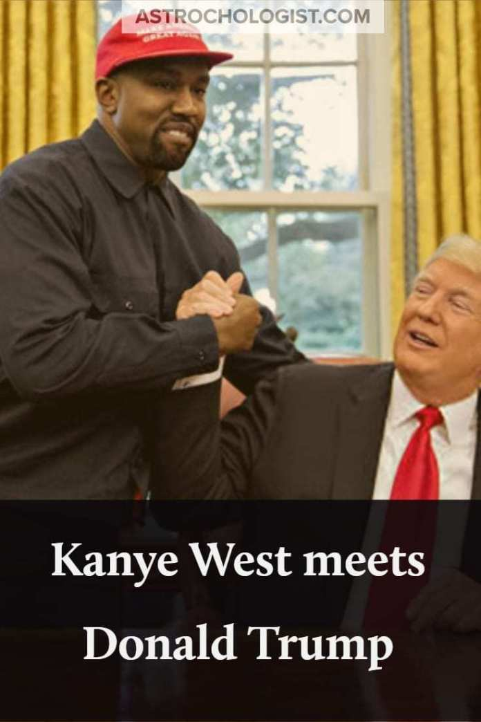 Kanye West meets with Donald Trump, but why? What exactly brought them together and why do they seem to get along? We explore the astrology inside.