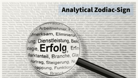 Which of the following zodiac signs is generally considered as most suitable for careers related to analysis?