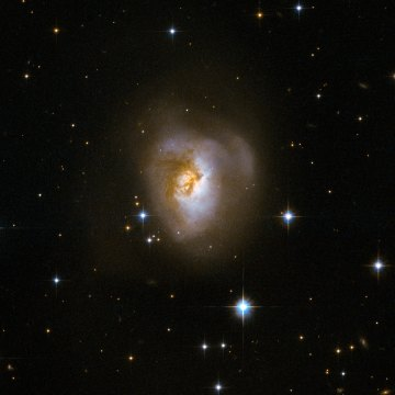 The age of stars reveal the story of the collision between galaxies