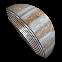 Anijen Juno e NASA's sjell imazhe te reja nga flyby i rradhes me Jupiterin.
