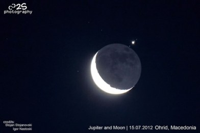 Jupiter Occultation of July 15 2012 from Macedonia