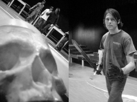 Hamlet Rehersal