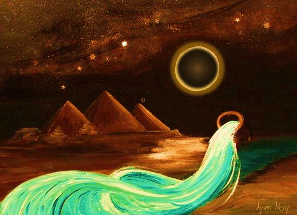 Moon Eclipse Aquarius