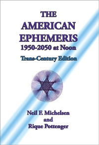 The American Ephemeris 1950-2050 Noon The Trans-Century Edition image